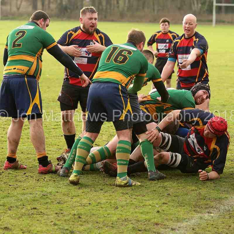Retford RC1st XV v Ashfield RC