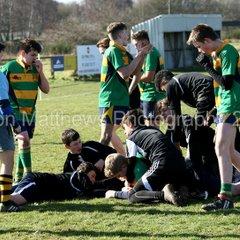 Retford Rugby U15 v North Hykeham RUFC