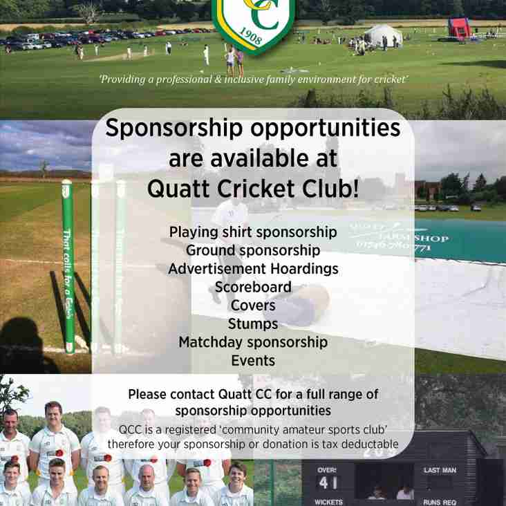 2017 SPONSORSHIP OPPORTUNITIES
