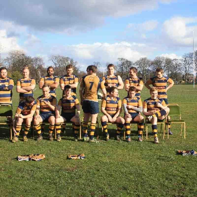 Edinburgh Northern RFC 1st XV Team Photo 2013-2014