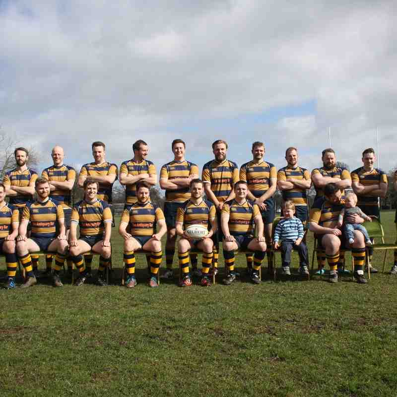 Edinburgh Northern RFC 1st XV Team Photo 2014-2015
