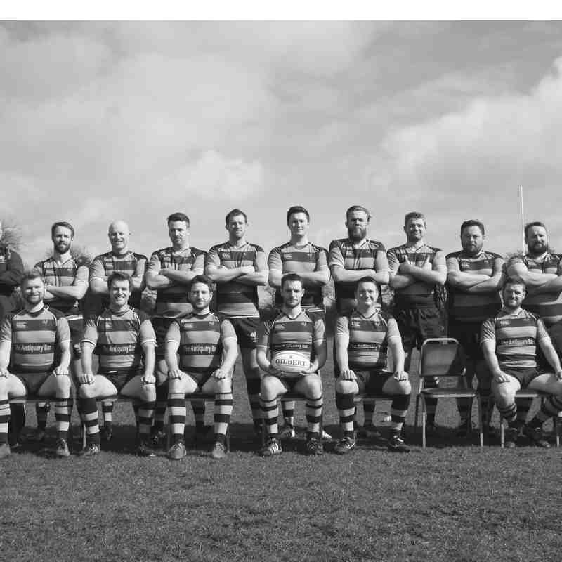 Edinburgh Northern RFC 1st XV Team Photo 2014-2015