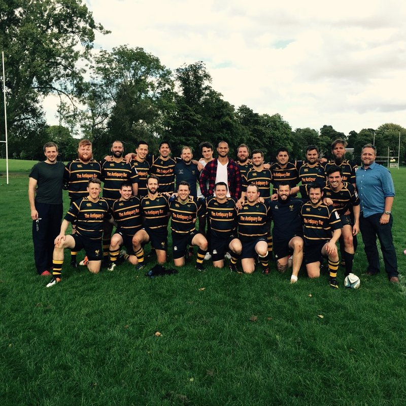 1st XV beat Edinburgh University Medics 38 - 11