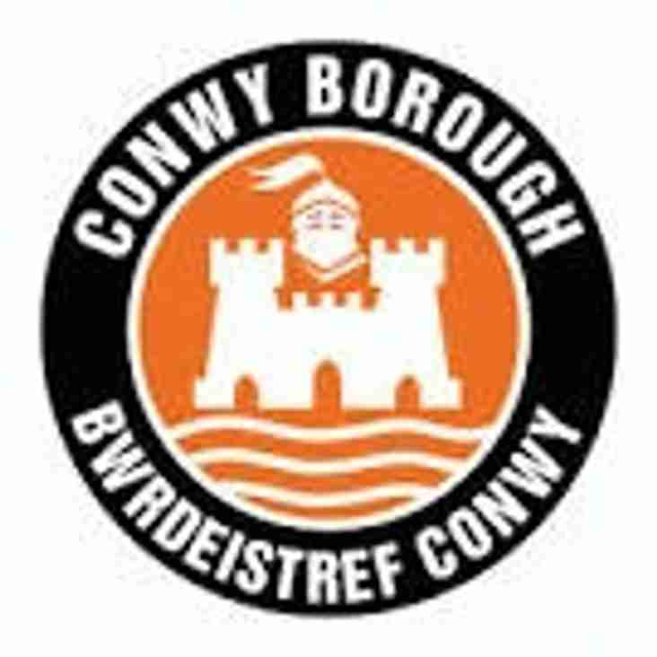 Weekend fixture away at Conwy