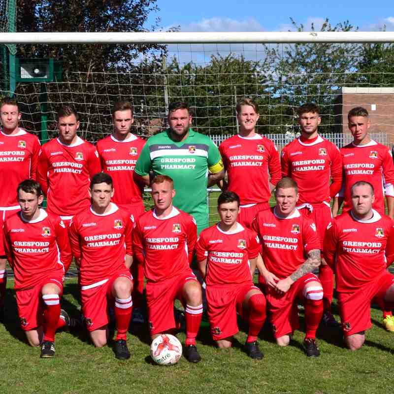 First Team v Conwy Borough - Sat 17 Sep 2016