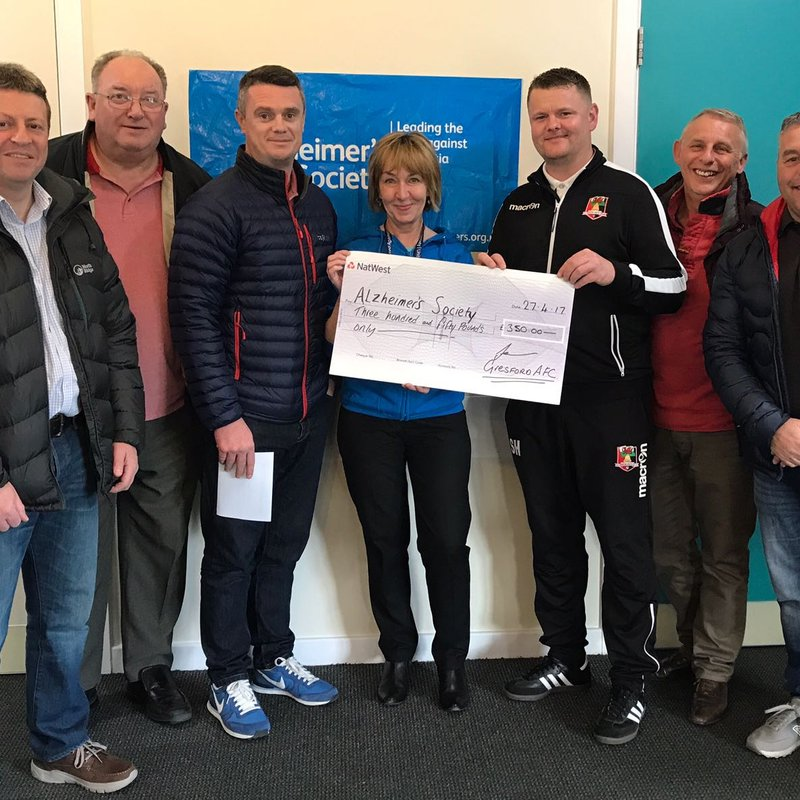 Gresford Athletic FC creates link with designated Charity