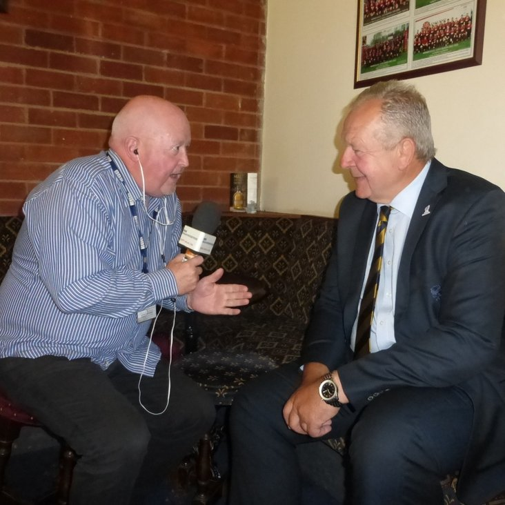 BBC Radio Merseyside&#039;s Steve Roberts interviews Bill Beaumont: watch and listen<