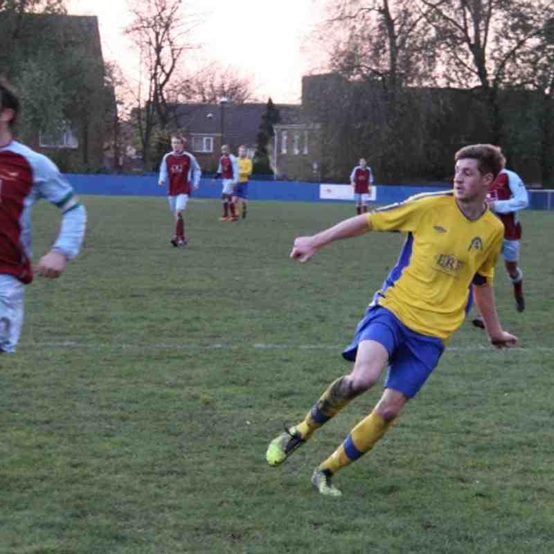 Gedling MW away at Radford FC Season 2013-14