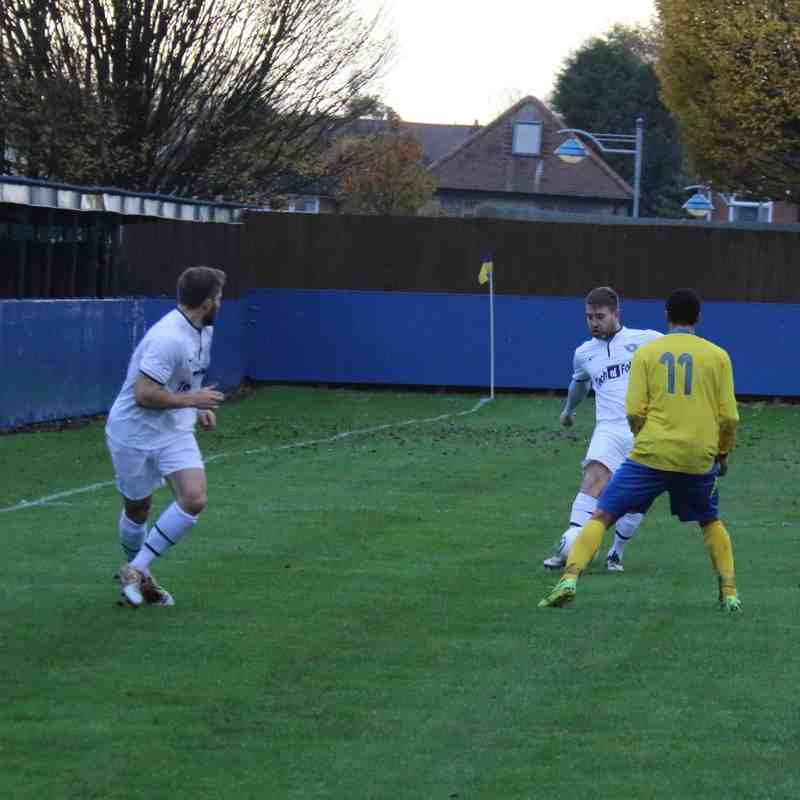 Gedling MW at home to Blaby & Whetstone AFC - 2014-15 Season.