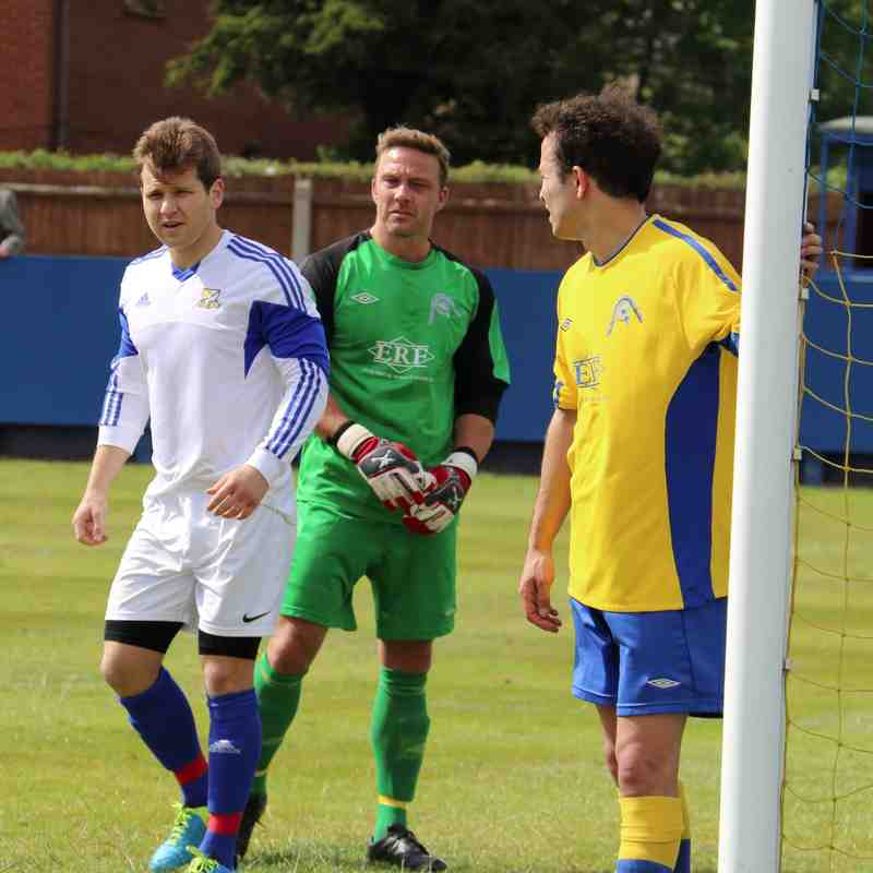 Gedling MW at home to Basford United (PSF)