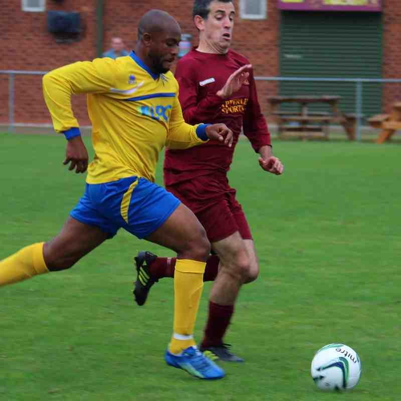 Gedling MW away at Arnold Town - 2015-16 Season