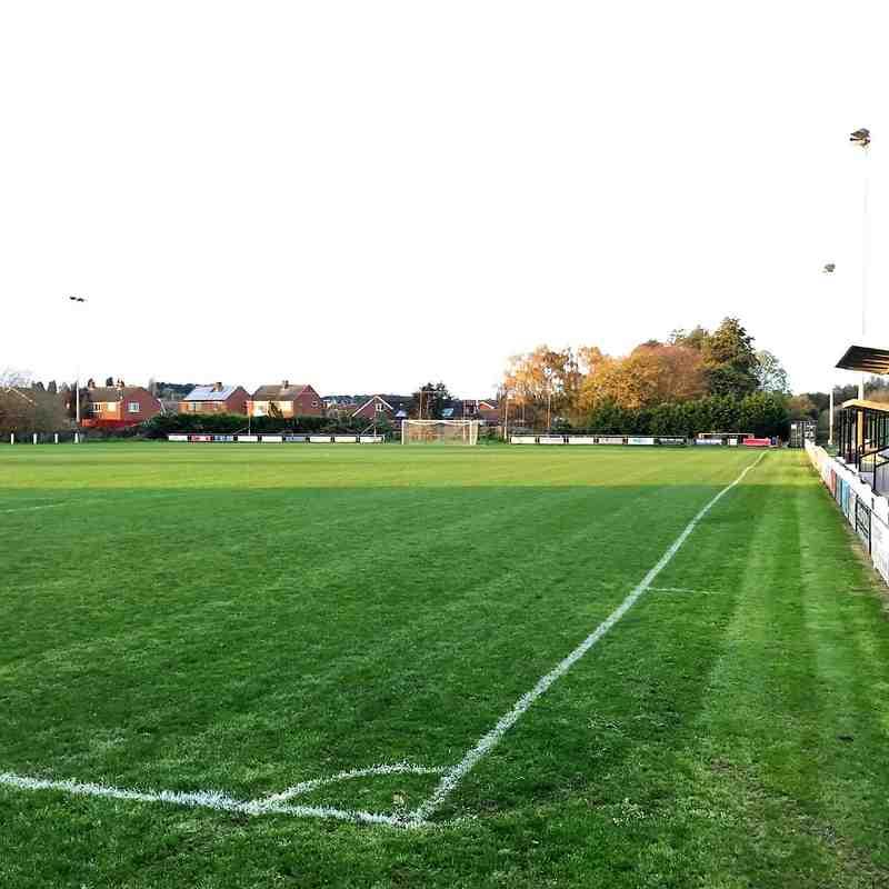 Gedling MW away at Birstall United 2017-18 Season