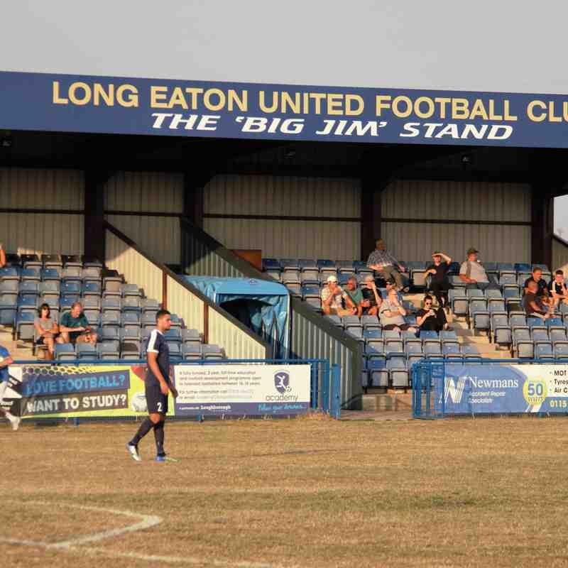 Gedling MW away at Long Eaton United - PSF 2018-19 Season