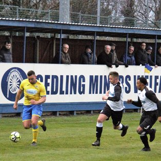 MATCH REPORT | Gedling Miners Welfare 3 -v- 3 Heanor Town