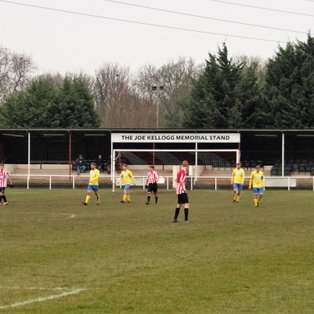 MATCH REPORT | Borrowash Victoria 0 -v- 5 Gedling Miners Welfare