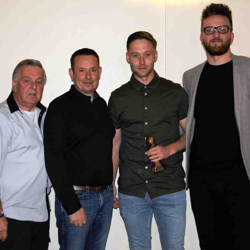 Liam Corrigan - Website player of the season