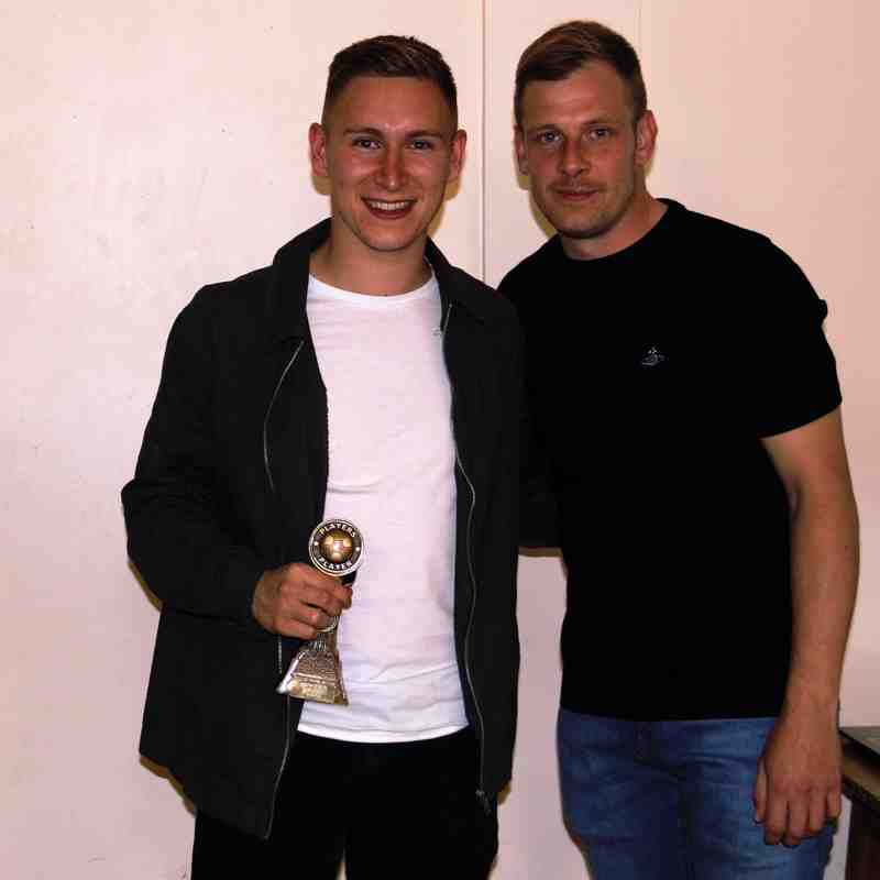Jack Jepson - Player's Player of the season