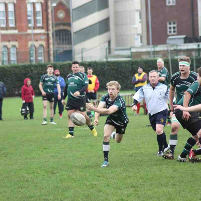 United Services Portsmouth v Heathfield 1st XV
