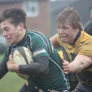 Home bonus point win but disappointing second half