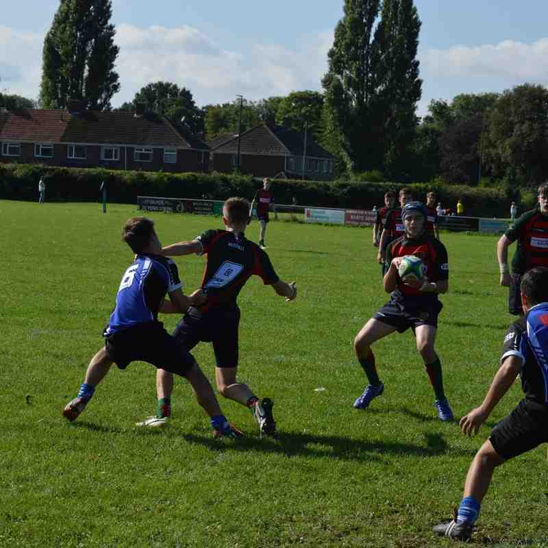 Grimsby U16's v Paviors September 2016