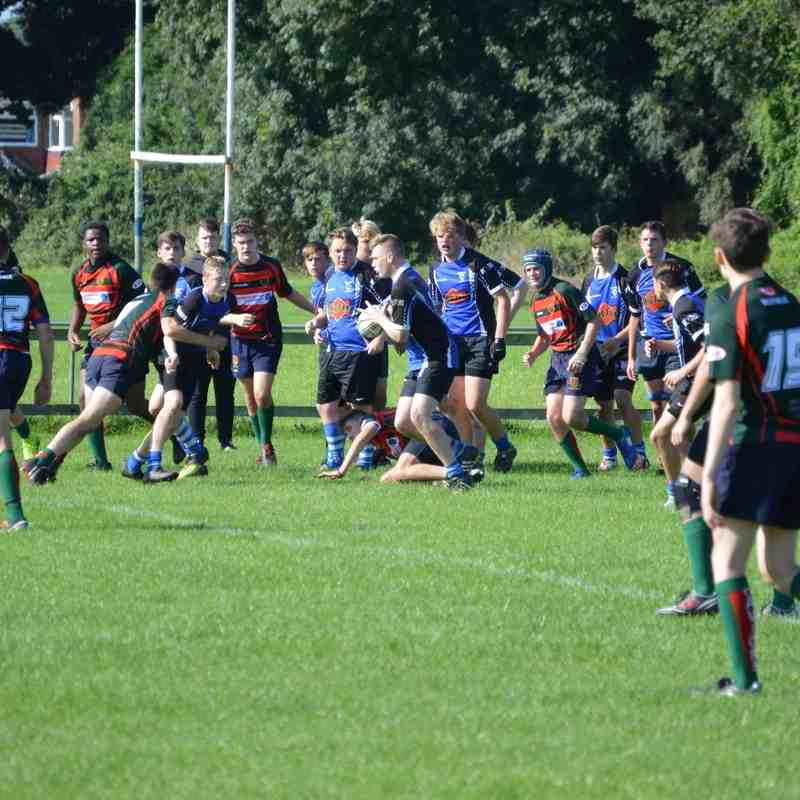 Grimsby U16's v Paviors September 2016 more photos