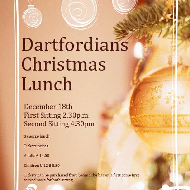 Dartfordians Xmas Lunch