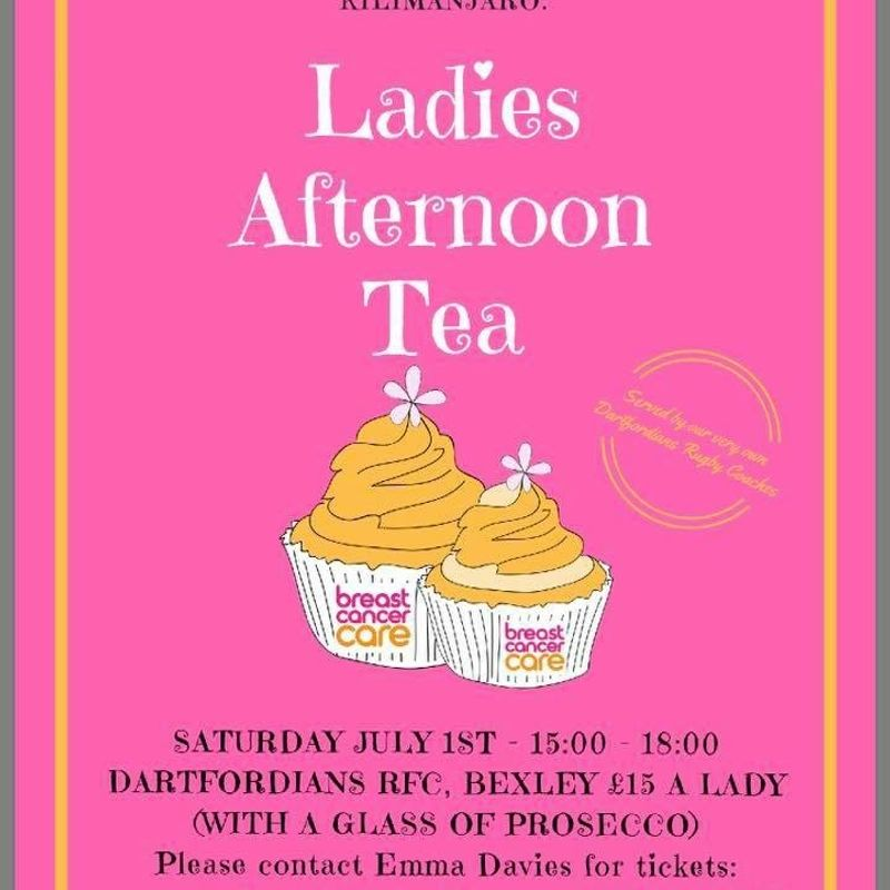 Afternoon Tea Charity Event