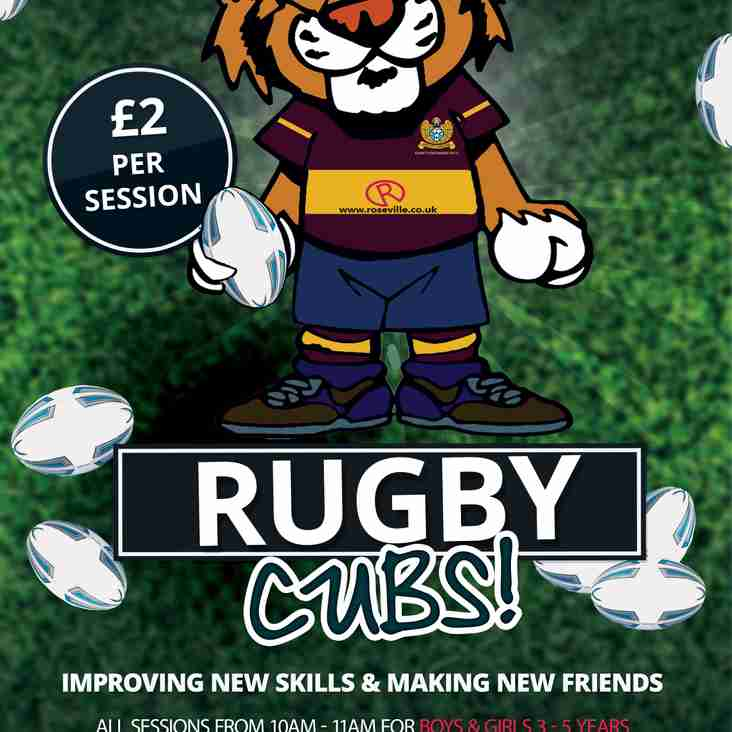 Rugby Cubs is Back