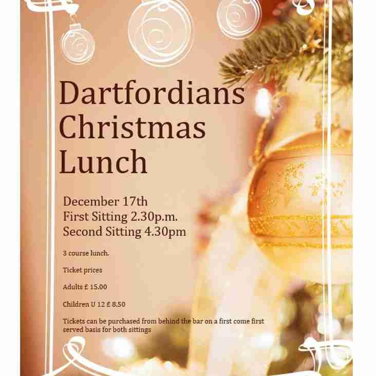 Dartfordians Xmas Lunch - 17.12.17