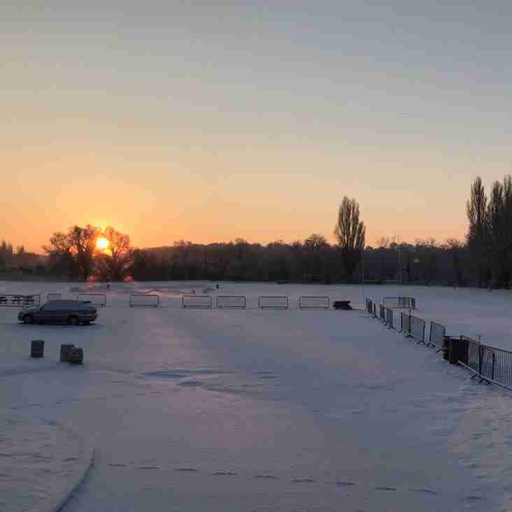SUNDAY 4TH MARCH - ALL HOME TRAINING CANCELLED