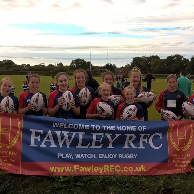 Fawley Girls played there first game