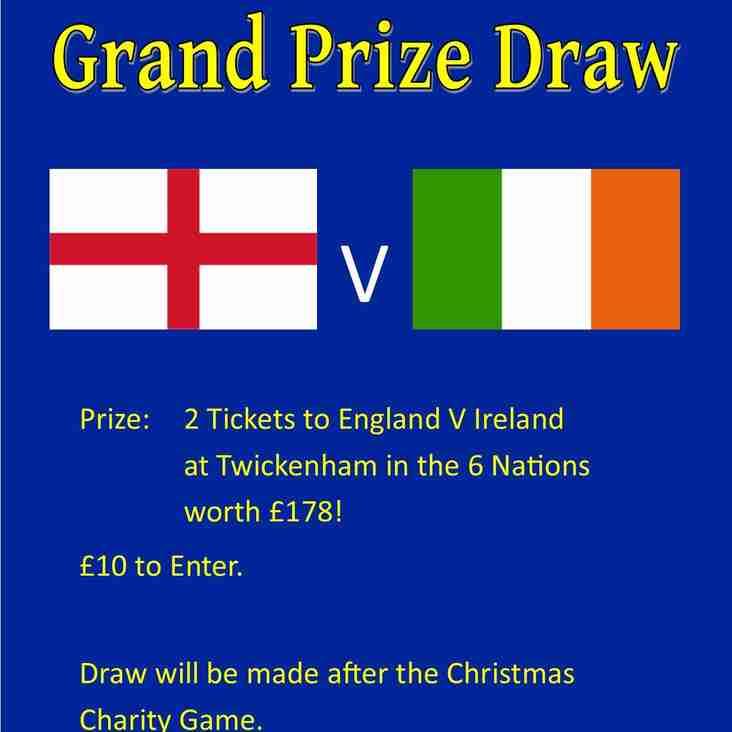 England V Ireland 6 Nations Tickets