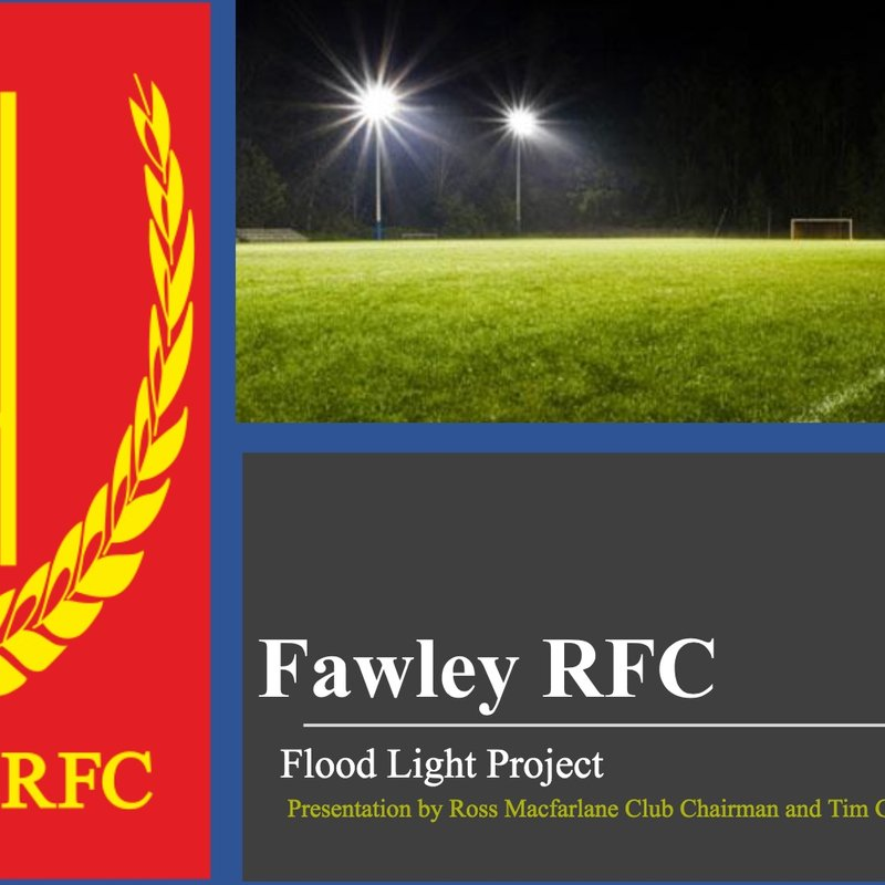 Flood light Planning