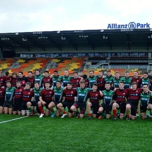 Heath u16s enjoy Allianz experience