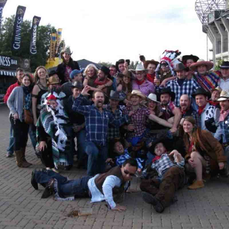 Wild West Day at the Premiership Final 28.5.2011