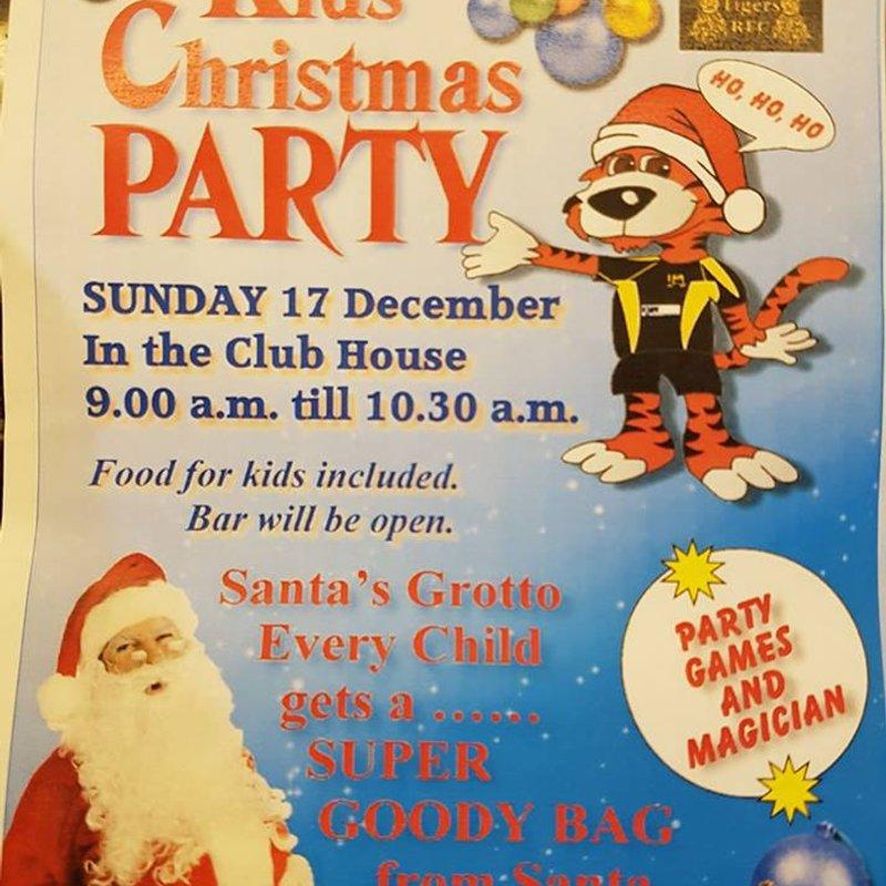 Minis Christmas Party - U6, U7 and U8s