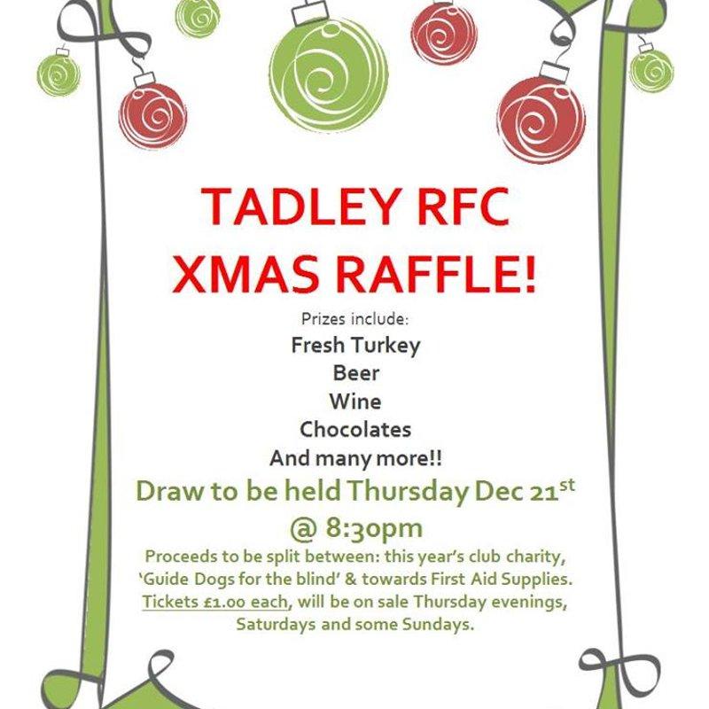 Tadley RFC Xmas Raffle