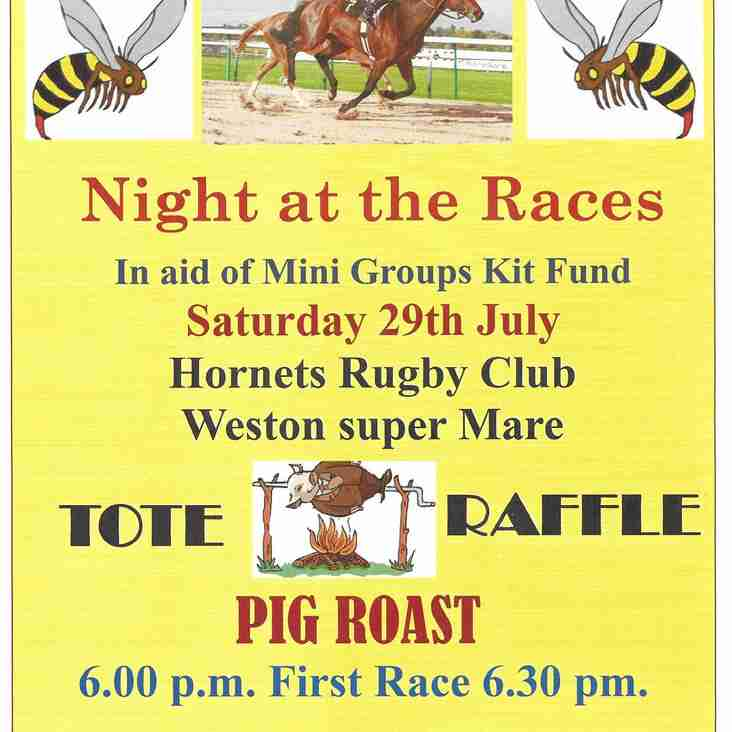 Race Night @ The Nest Saturday 29th July
