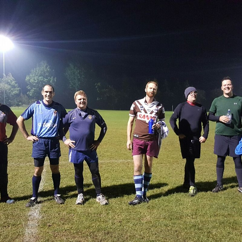 Top Touch Team - Tuesday 25th October