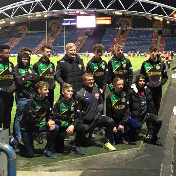Juniors Enjoy Clubs Day At Giants Match