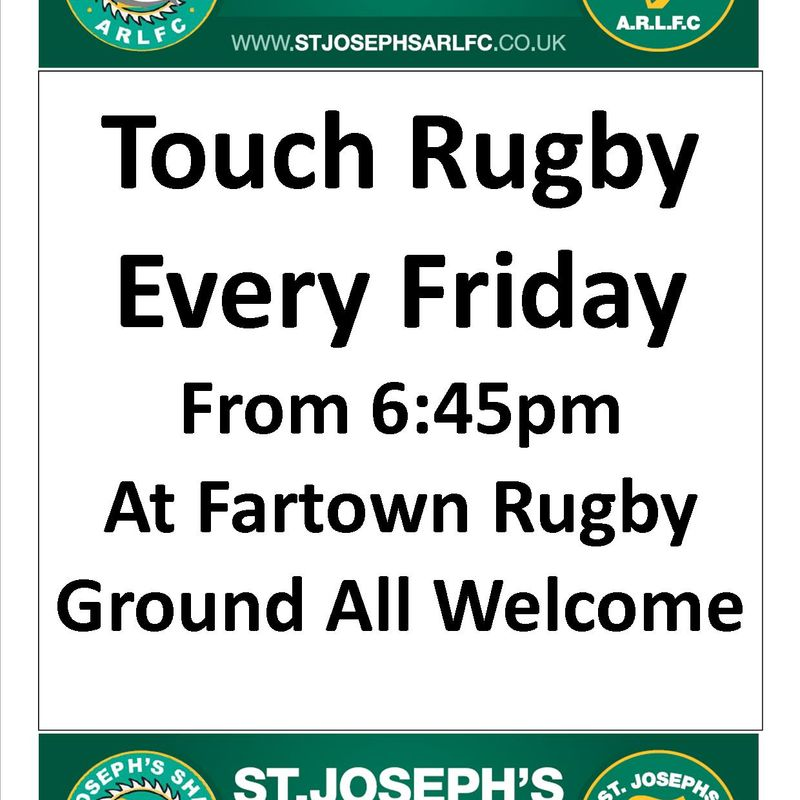 Touch Rugby Back At Fartown