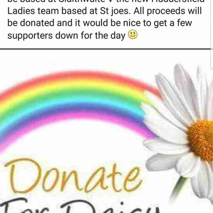 Ladies Charity Game On Saturday