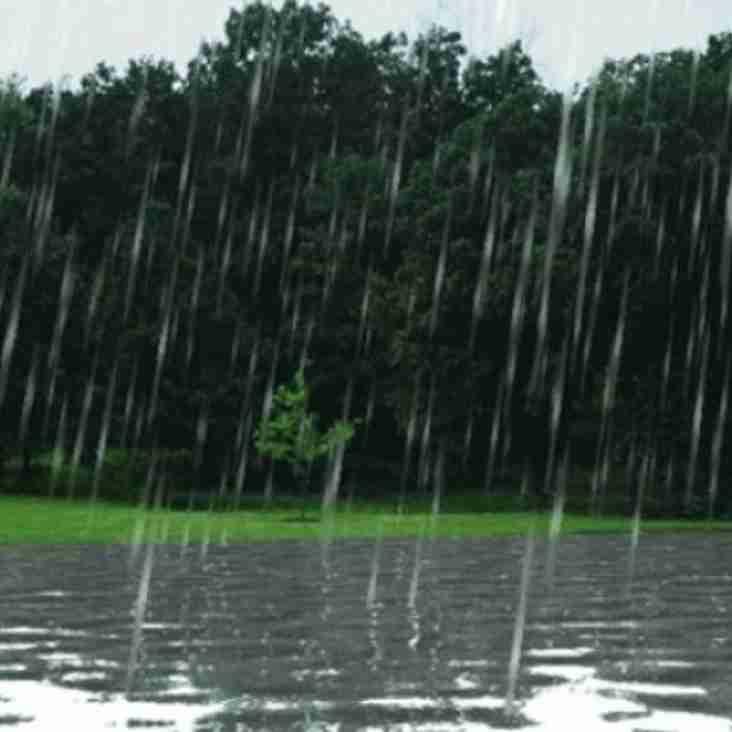 Rain Hinders Preseason Preparations