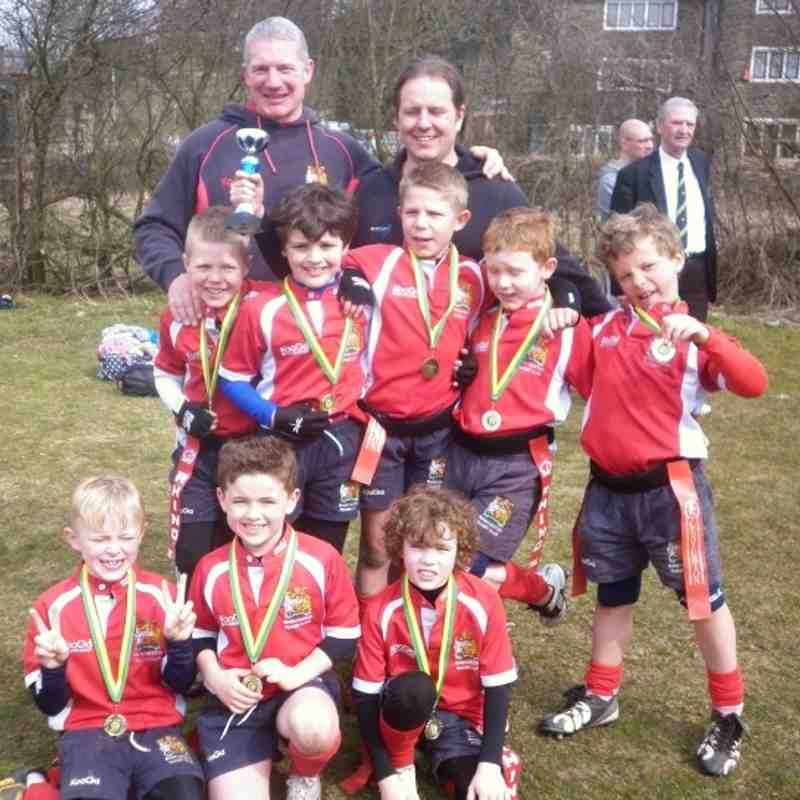 Under 8's - Littleborough Champions