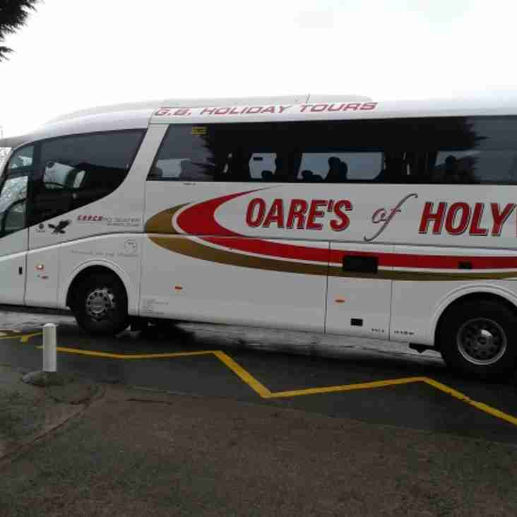 Supporters Coach to Rhayader - This Saturday!!
