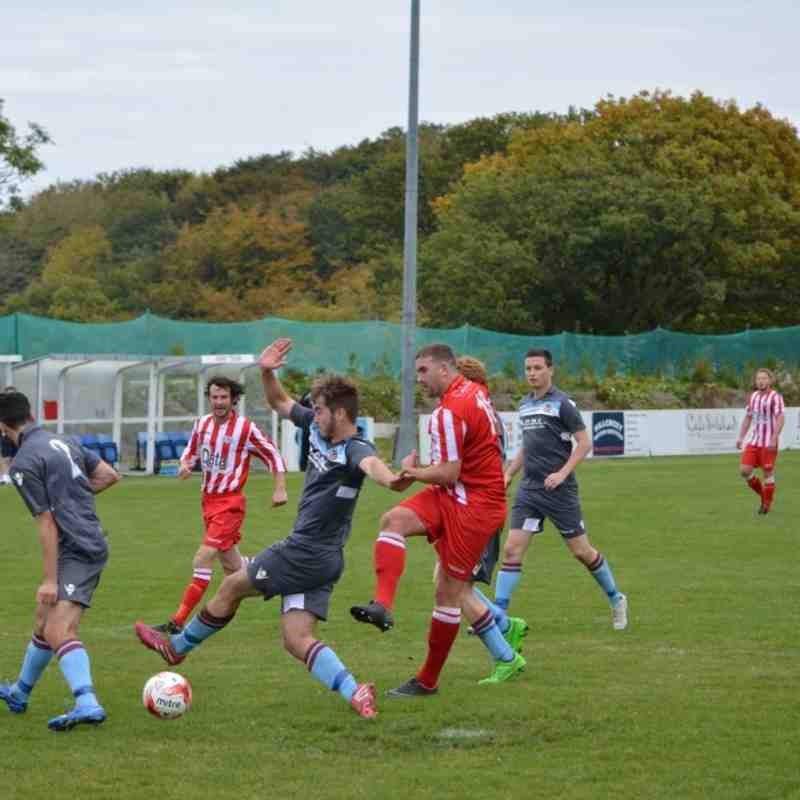 Holywell Town 5-1 Rhayader Town (17th October 2015)