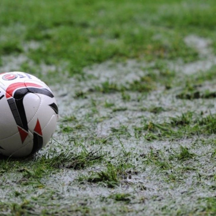 Both Matches Off for First Team and Reserves<