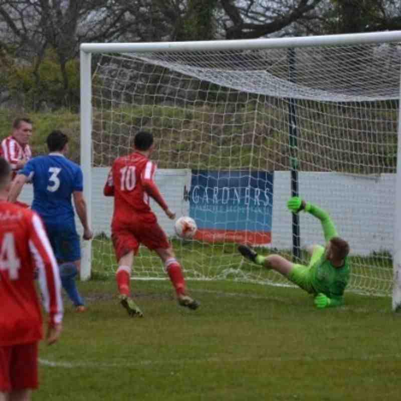 Holywell Town 4-0 Mold Alex (Saturday 26th March)