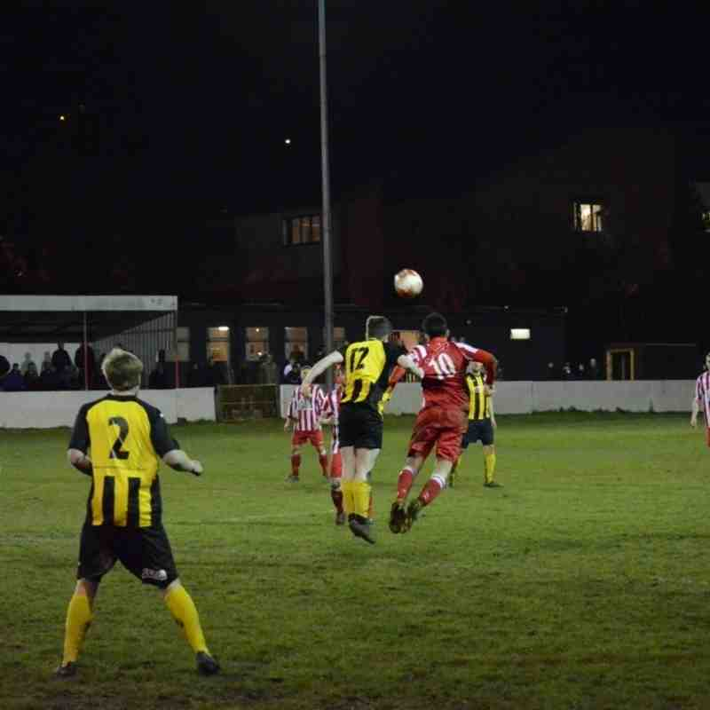 Holywell Town 1-1 Buckley Town - Wednesday 30th March 2016 (Thanks to Steve 'Dids' Jones)