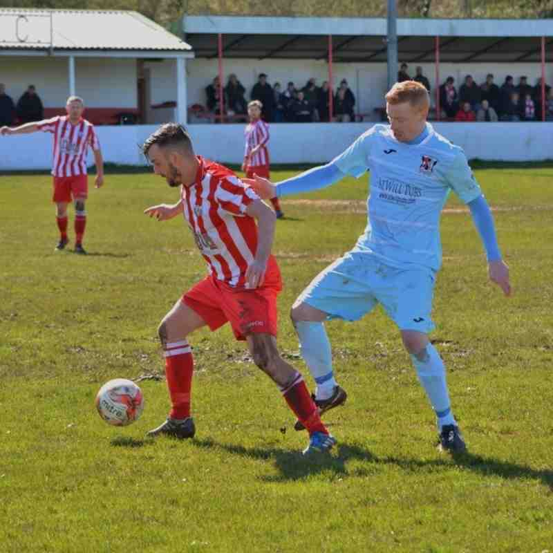 Holywell Town 1-1 Cefn Druids (Saturday 16th April 2016) Thanks to Steve 'Dids' Jones